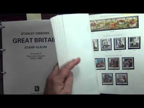 Great Britain 1970-1999 NHM Commemoratives Stamp Collection