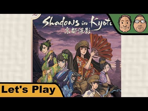 Shadows in Kyoto - Brettspiel - Let's Play mit Peat & Alex