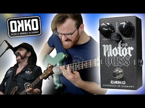 Lemmy's Tone In A Pedal?! // Okko FX Motörbass [Demo]