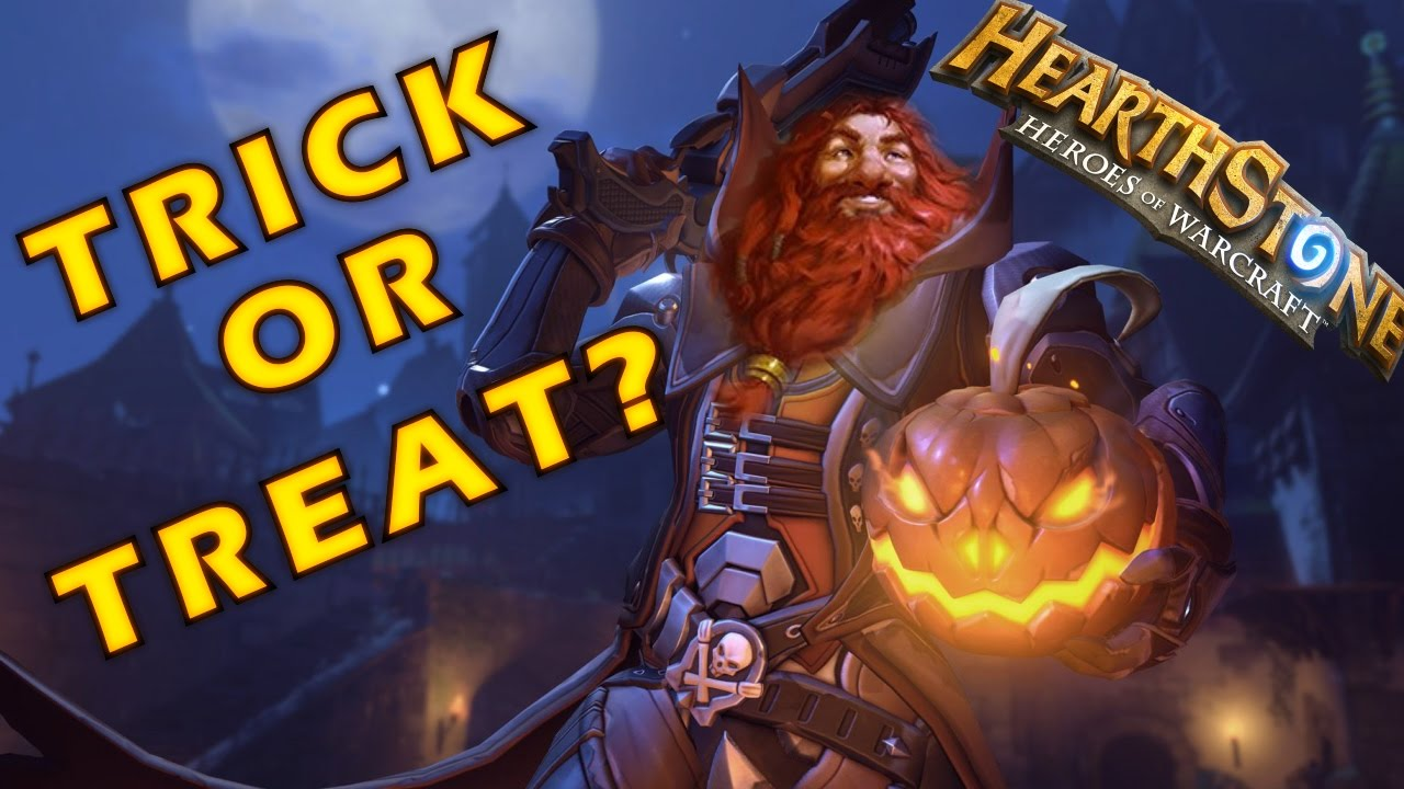 Hearthstone Players Get a Special Halloween Treat