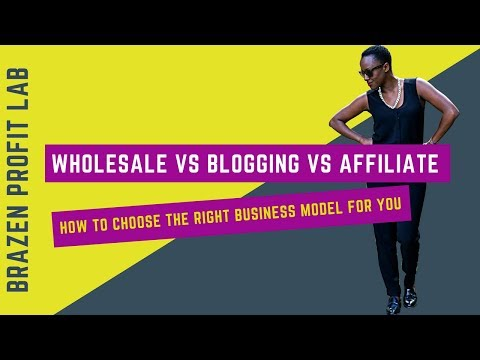 Wholesale Vs Dropship Vs Affiliate: How To Choose The Right Ecommerce Business Model for you.