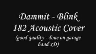 Dammit - Blink 182 Acoustic Cover