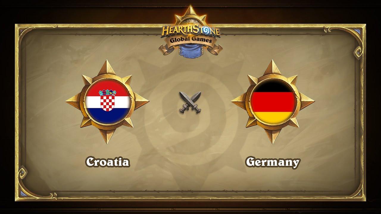 Хорватия vs Германия | Croatia vs Germany | Hearthstone Global Games (10.05.2017)