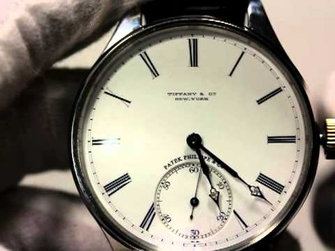 PATEK PHILIPPE & CIE FOR TIFFANY & CO ANTIQUE WATCH 1895  (Barabash's & Katerynych)