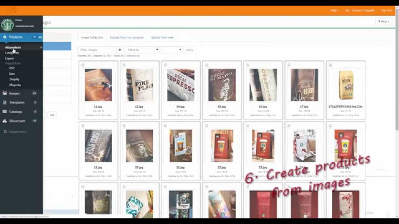 the easy way to create online product catalogs youtube