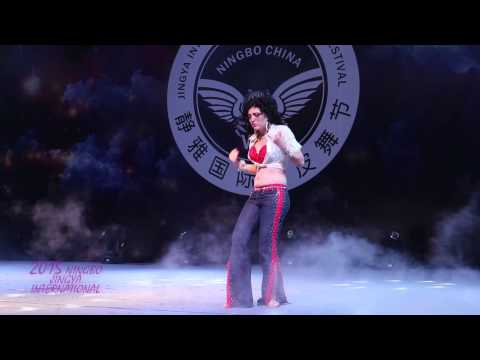 Sophie Armoza:2015 Jingya international Bellydance festival Ningbo China