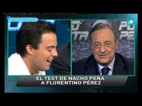 El test de Nacho Peña a Florentino Pérez