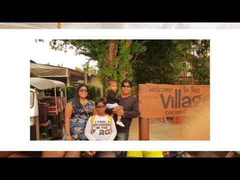 My Family trip to Thr Village Coconut Island