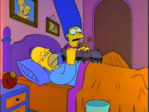 Homero y el sandwich gigante
