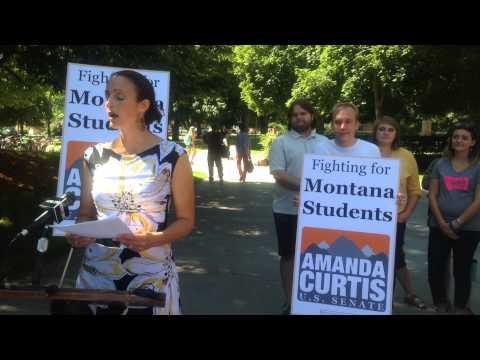 U.S. Senate Candidate Amanda Curtis