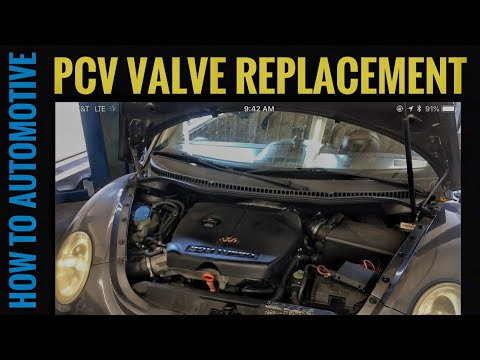 How to Replace the PCV Valve on a Volkswagen Beetle 1.8 Turbo