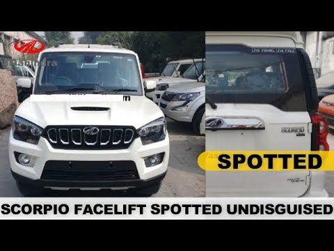 SPOTTED UNDISGUISED ! 2017 MAHINDRA SCORPIO FACELIFT COMPLETELY REVEALED