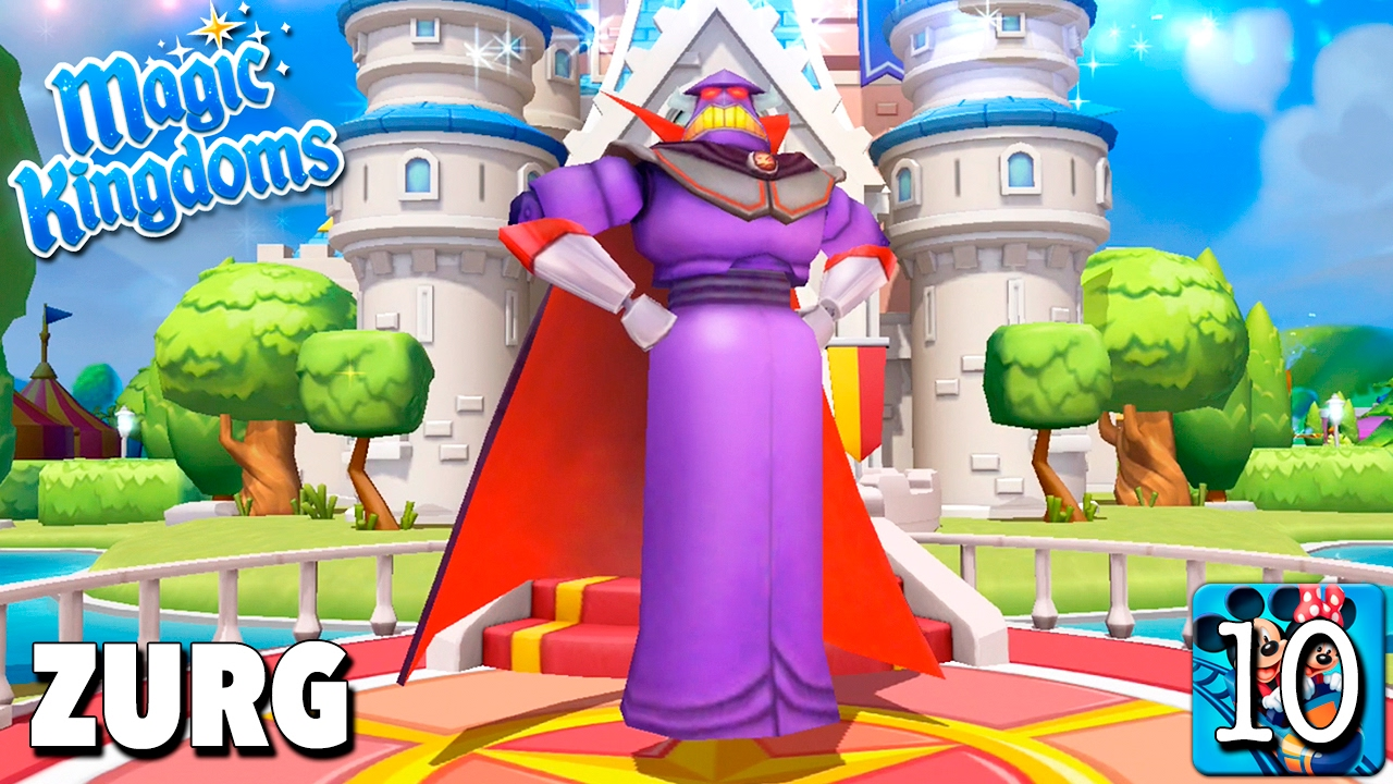 Bienvenido Zurg Juego Disney Magic Kingdoms Gameplay Youtube