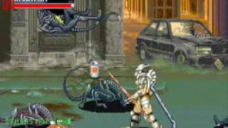Alien Vs. Predator Arcade Game Level 1