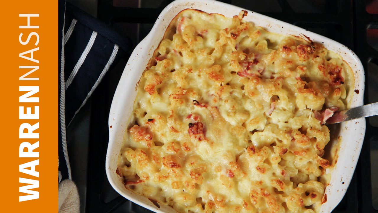 Grown-Up Bacon Mac & Cheese