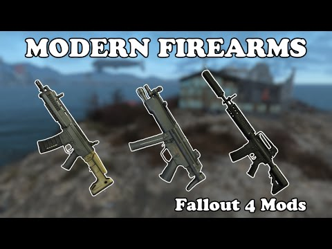 Fallout 4 Mods - Modern Firearms at Fallout 4 Nexus - Mods and community