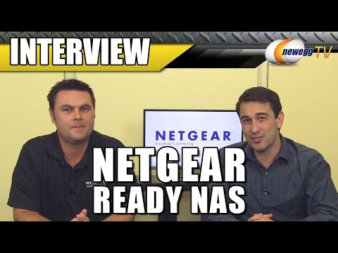 What's New With NETGEAR ReadyNAS Interview - Newegg TV