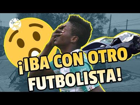 ¡NO IBA SOLO! | El copiloto que acompañaba a Maleck es futbolista