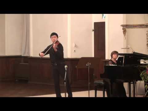 Simon Zhu | Beethoven | Violin Sonata No. 4 | 2017 Kloster Schöntal International Violin Competition