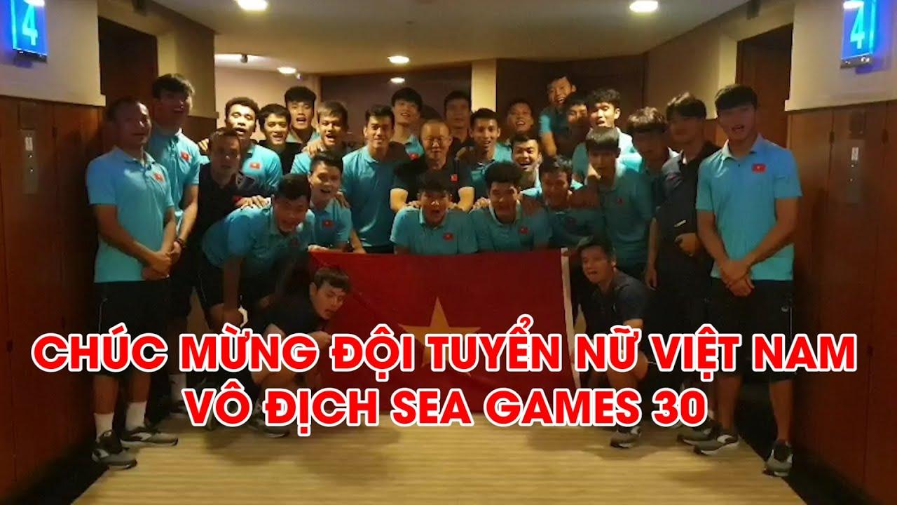 ???? U22 Việt Nam chúc mừng ĐT Nữ Việt Nam giành HCV SEA Games 30 | Next Sports