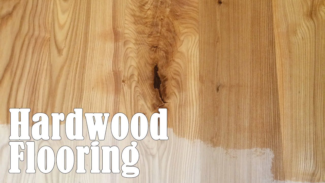 Making And Installing Hardwood Flooring From A Tree Youtube
