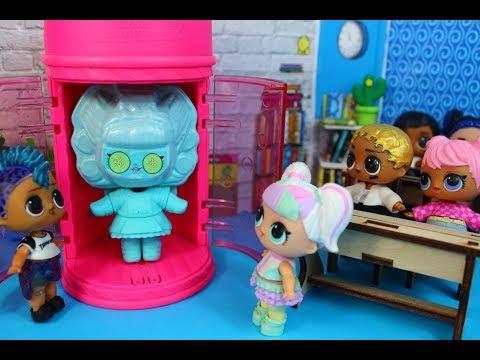 Новые лол #Hairgoals в школе.Распаковка Мультик про куклы LOL SURPRISE MC Family