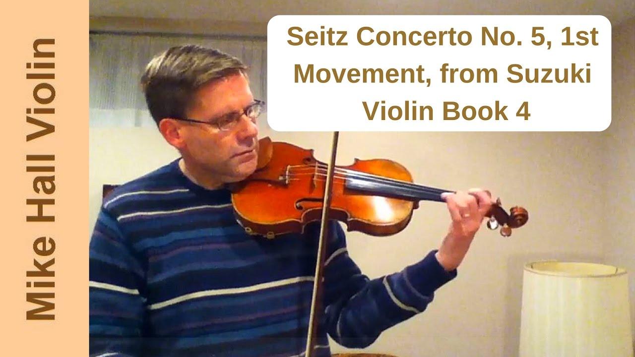 Concerto No  Seitz Suzuki