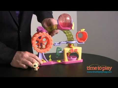 Littlest Pet Shop Hamster Playground from Hasbro