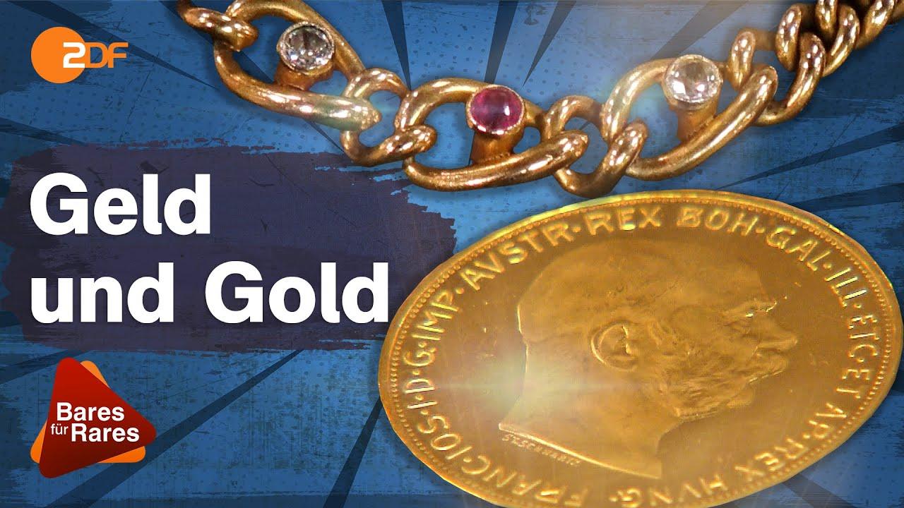 Glänzende Prachtexemplare! Armband und Münzen aus hochwertigem Gold | Bares für Rares