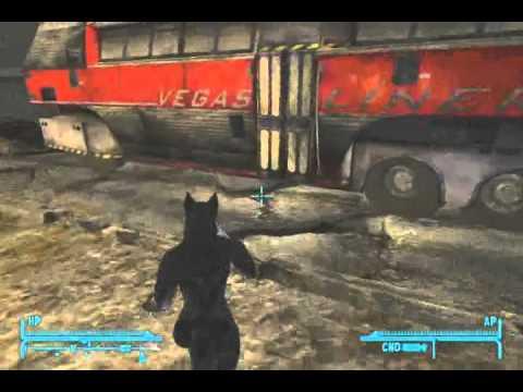 Fallout New Vegas Werewolf V111a Youtube