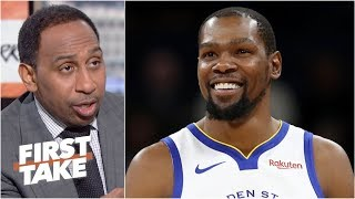 Kevin Durant is the best player in the world - Stephen A. | First Take