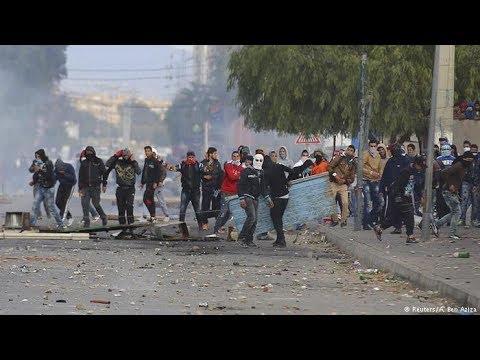تواصل الاحتجاجات الشعبية بسبب قانون المالية الجديد  - 22:20-2018 / 1 / 11