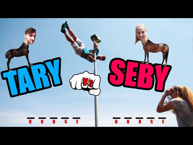 PARKOUR HORSE CHALLENGE #2 | TARY VS. SEBY
