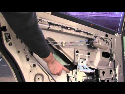 How to install replace front window regulator 1999 06 v for 1999 vw passat window regulator clips