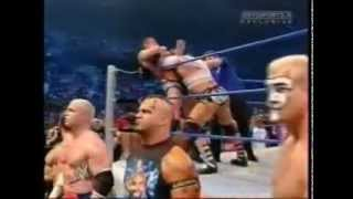 Batista vs Randy Orton (World Heavyweight Championship) Smackdown 2005 (RAW Invasion)