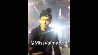 The Luckiest BTS Kim Taehyung Stan in the Universe! (150507 Wings Tour in Manila)