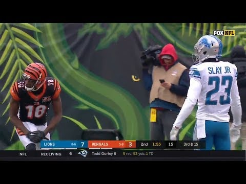 AJ Green vs Darius Slay (2017) | WR vs CB Matchup