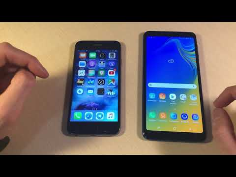 Galaxy a7 2019 vs iphone 6s