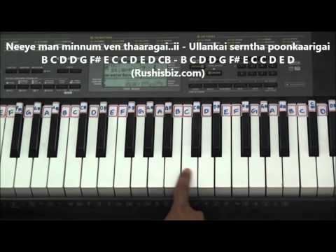 Pachchai Thee Neeyada Piano Tutorials(Baahubali) (Tamil)