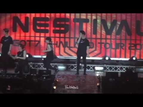 [JS CAM] 170617 Jackson Wang - Nestival in Bangkok Ending