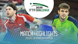 Кирилл Герасименко vs Steffen Mengel | Spanish Open 2020 (1/2)