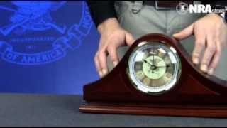 Nra Minuteman Concealment Mantel Clock