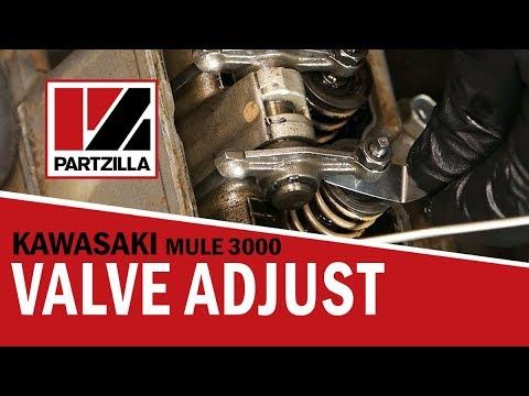 Kawasaki Mule Valve Adjustment