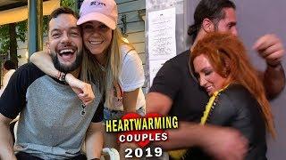 Download 10 Heartwarming WWE Couples 2019 -  Seth Rollins & Becky Lynch, Finn Balor's New Girlfriend Mp3 and Videos