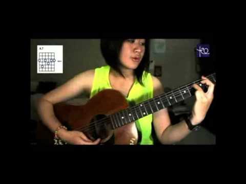 Akustik Gitar - Belajar Lagu (Lebih Indah - Adera)