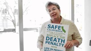 Prop 34 supporter Judy Kerr, sister of murder victim