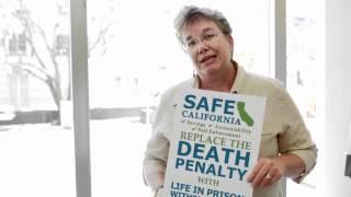 Prop 34 supporter Judy Kerr, sister of murder victim