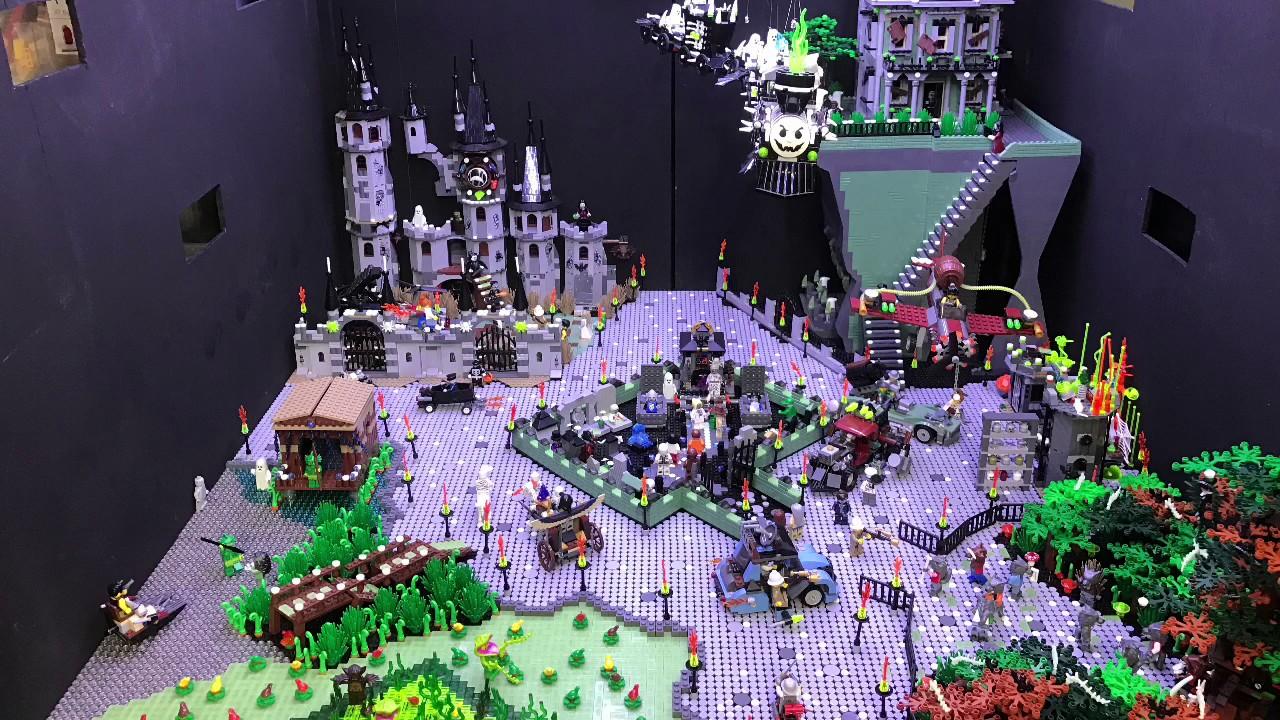 LEGO Monster Fighters MOC Scene  YouTube