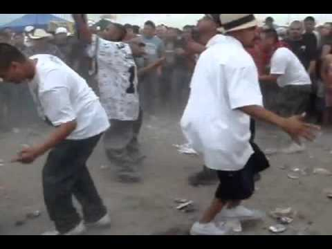 Cholos / Gangsters Dancing To The  Chicken Song