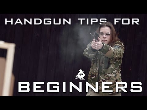 Handgun Tips For Beginners | Training With Manca